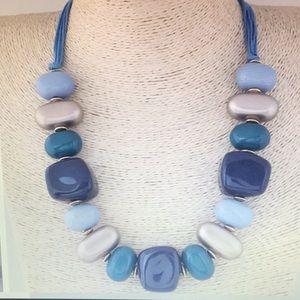 Necklace- Blue